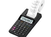 كاسيو آلة حاسبة فيها طابعة. لاول مرة في مصر
