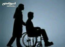 رعاية صحية مع مرافقة المريض وكبار السن رجال