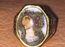 خاتم فضة بعقيق يماني داودي
