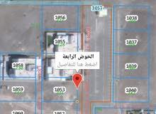 أرض للبيع الخوض الرابعة القديمة بكامل الخدمات شارع مرصوف
