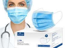 50pcs 3-Layer Disposable Face Ma-sk