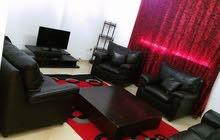 للكراء شقة مؤثثة بحي النصر 2 تتكون من صالة وغرفة نوم