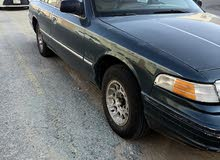 Green Ford Crown Victoria 1995 for sale