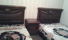 غرفة نوم فردية عدد 2 أسرة