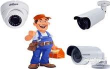 فني تركيب وصيانة كاميرات المراقبة 0925399474
