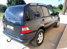 Gasoline Fuel/Power   Mercedes Benz ML 1999