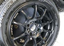 للبيع 4 جنوط ادڤان مقاس 15 من شركة يوكوهاما 4 مسمار