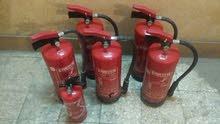 يوجد  6 طفايه حريق جداد للبيع ماركه بافاريا منتهي الصلاحية  ال 5 الكبار 6 كيلو