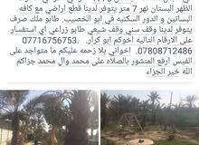 اللهم صل على محمد و ال محمد بستان للبيع في ابو الخصيب مهيجران