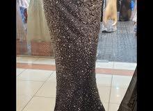فستان كحلي مقاس 10