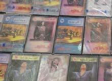 مجموعة كبيرة أصلية من ألبومات أم كلثوم