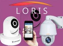 كاميرات مراقبة متحرك بالصوت والصورة ضمانة لمدة عام
