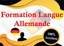 Formation en langue allemande accélérée A1.1 a B1.2  TUNISIE