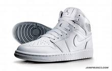 Air jordan 1 all white (brand new with box)