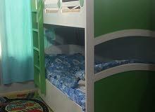 سرير اطفال دورين للبيع
