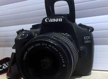 كاميرا كانون 1200D بحاله الوكاله مع كامل أغراضها
