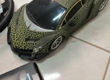 Lamborghini car toy with driving wheel