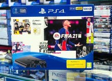 Console ps4 with 1 or 2 controls with fifa21 bundle
