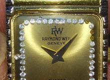 raymond weil gold plated 18k