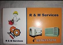 شركه R&m services