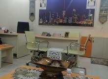 مكاتب تجارية للايجار في مجمع راقي مساحات مختلفه