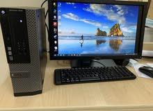جهاز ماركة ديل كمبيوتر مكتبي للبيع