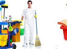 تنظيف عام لجميع انواع المبانى والمنشأت