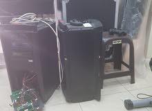 صيانة وتوريد وتركيب أنظمة الصوت والصورة اجهزة منزلية وصناعية أنظمة إطفاء الحريق