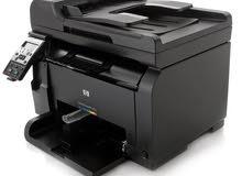 طابعة ألوان HP laserjet pro100