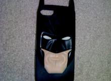شاحن أصلي و كفر حماية على شكل باتمان (الرجل الوطواط) للأيفون