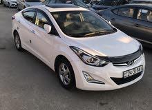 White Hyundai Avante 2014 for sale