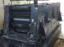ماكنة طباعة اوفست 4 الوان هايدل بيرح G.T.O مطابع  طباعة  مطبعة