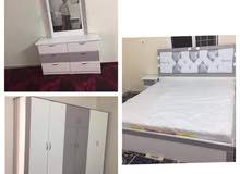 غرف نوم جديد مع التركيب والتوصيل من المصنع