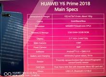 Hwawei Y6 prime 2018