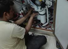 إصلاح أ جهزة ومعدات ومحطات تحلية المياه .