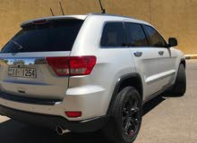 Silver Jeep Grand Cherokee 2011 for sale
