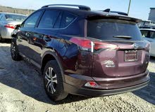 Toyota RAV 4 2017 For sale - Maroon color