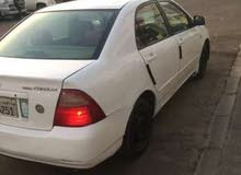 Used condition Toyota Corolla 2002 with  km mileage