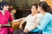 نوفر زيارات تمريضيه و تمريض مقيم و رسم قلب و اشعه بالمنزل