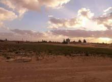 فرصة مخطط قطع ارضي زراعية عقارية للاستثمار  للبيع يمين طريق بنغازي قبل الكورفة
