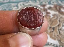خاتم عقيق يماني قديم