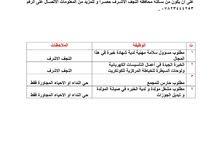 مطلوب موظفين في مجمع سكني في محافظة النجف الاشرف
