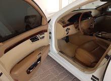 للبيع مرسدس s350 مديل 2007محول الشكل الجديد  2013..s63 اللون ابيض ومن الداخل ب