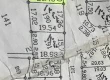 ارض للبيع في المستنده الغربيه سكنيه يوجد جنبهاا بيوت وعلى شارعين وواصل كهرباء