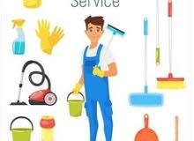 توفير عمال نظافه