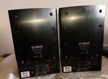 roland octa-capture analog 8x8  and yamaha msp5 monitor