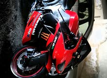 Used Kawasaki motorbike made in 2008 for sale