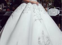 فستان زواج استعمال مره واحده