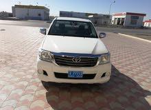 Manual Toyota 2014 for sale - Used - Al Masn'a city