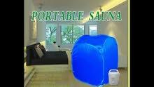 جهاز خيمة الساونا لاذابة الدهون وتفتيح البشرة